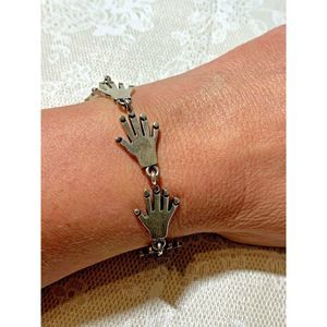 Jewelry - Audace Mexico 925 Sterling Silver Bracelet  Hands